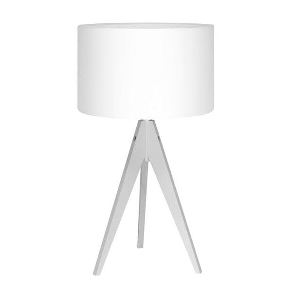 Lampa stołowa Artist Birch White/White