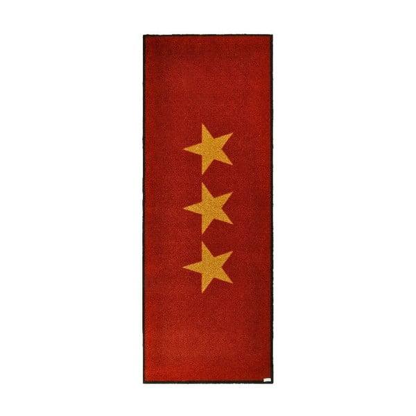 Chodnik/wycieraczka Hanse Home Stars Red, 67x180 cm