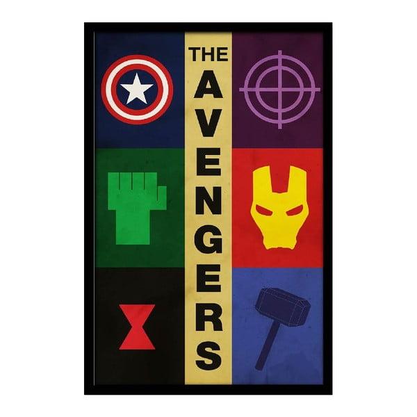Plakat Avengers, 35x30 cm