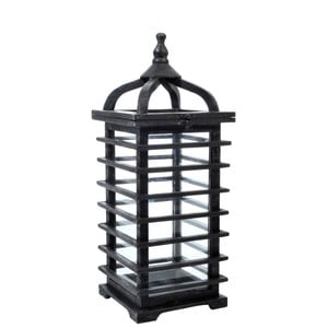 Lampion Oriental Black, 19x19x52 cm