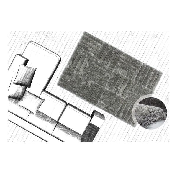 Dywan Solstice 120x170 cm, srebrny