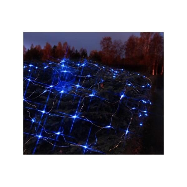Świecąca siatka Light Network Blue/Black, 2 m