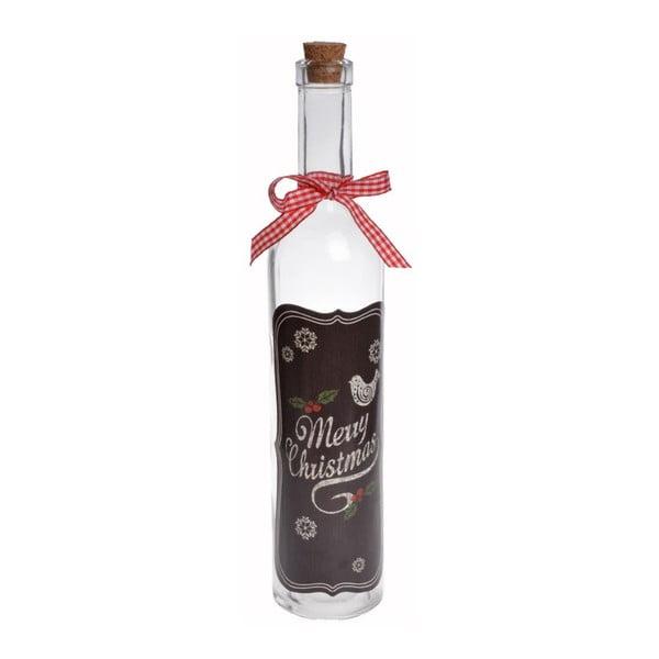 Butelka szklana Merry Christmas Slim