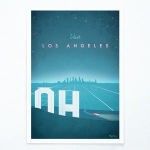 Plakat Travelposter Los Angeles, A2