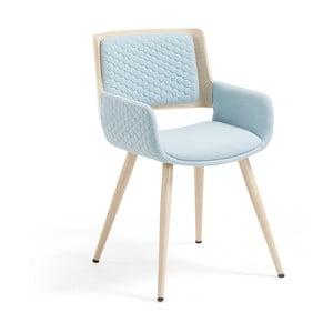 Niebieski fotel La Forma Andre