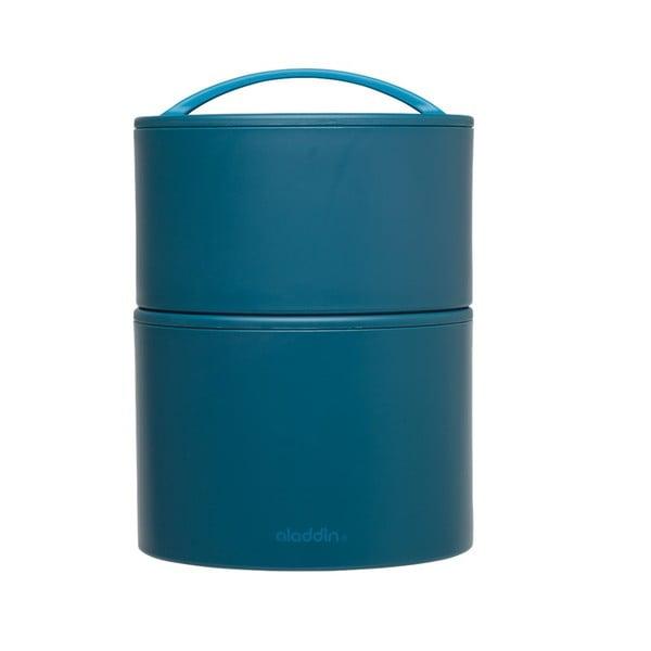 Pudełko termiczne na obiad Bento 0.95 l, neibieskie