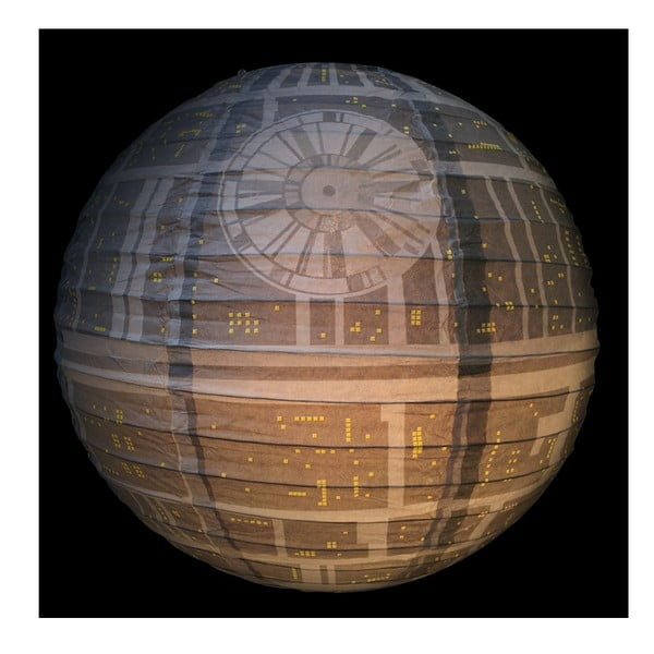 Papierowy abażur Star Wars Death Star