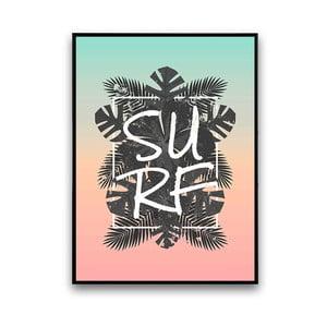 Plakat Surf, 30 x 40 cm