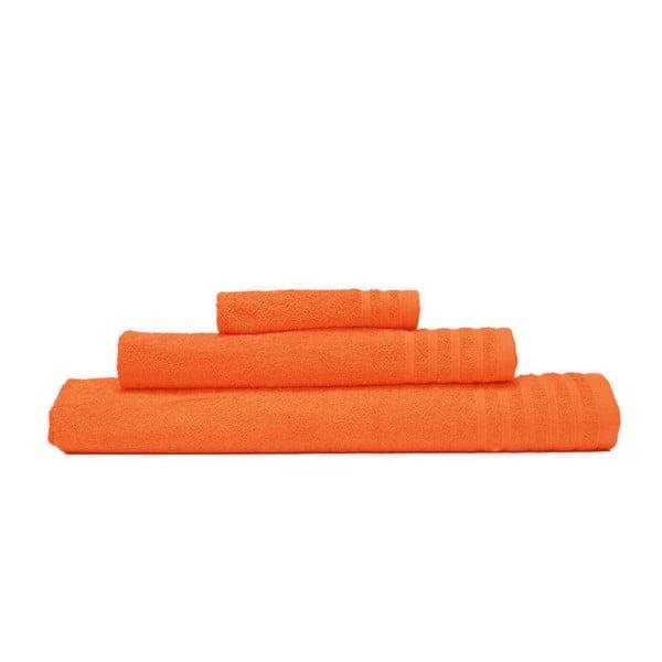 Zestaw 3 ręczników Flamenco Naranja