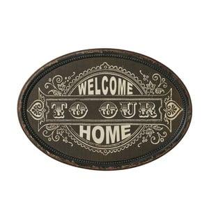Tablica Welcome home, 50x35 cm