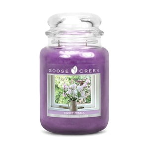 Świeczka zapachowa w szklanym pojemniku Goose Creek Słodkie płatki, 0,68 kg