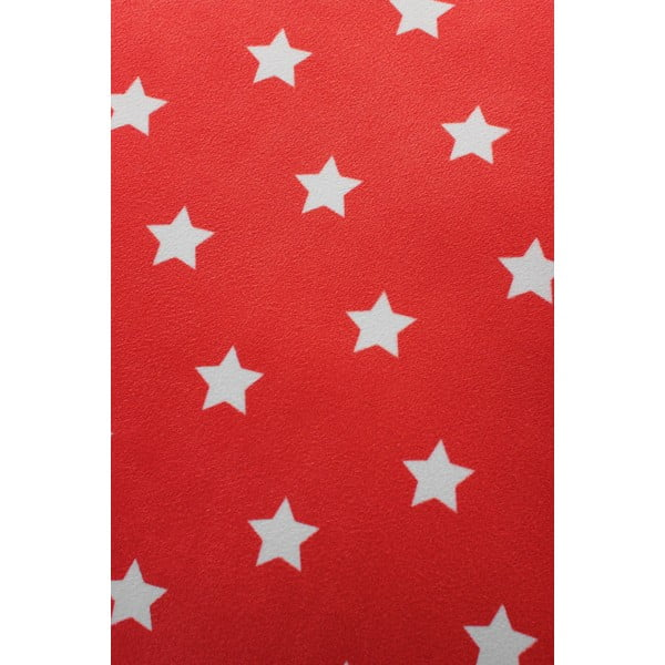 Poduszka Star 45x45 cm, czerwona