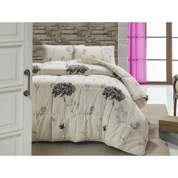 Pikowana narzuta na łóżko dwuosobowe Efil, 195x215 cm