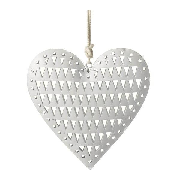 Dekoracja wisząca Parlane Heart Triangle, 12 cm