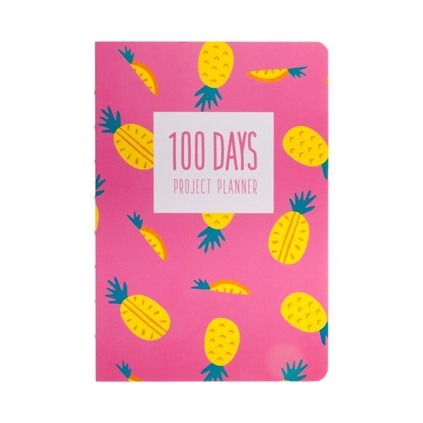 Organizer Languo 100 Days Ananas