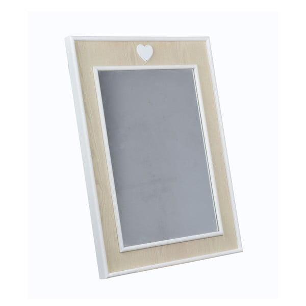 Lustro Heart Mirror, 60x80 cm