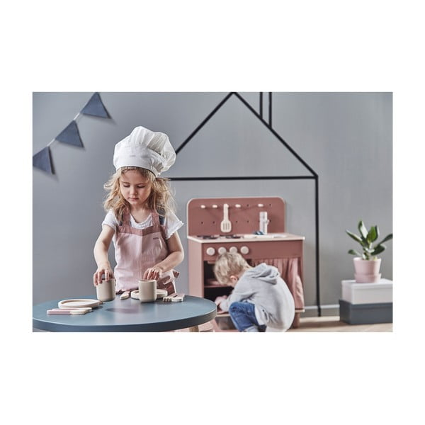 Drewniana kuchnia dziecięca Flexa Toys The Kitchen