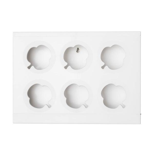 Pionowa doniczka HOH! Bianco, 38x27 cm