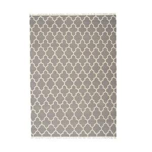 Wełniany dywan Arifa Light Grey, 140x200 cm