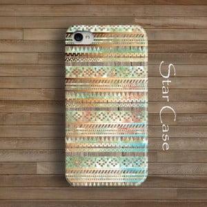 Etui na iPhone 4/4S Wood Tribal Beige