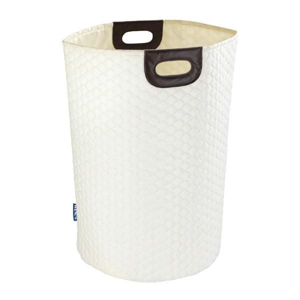 Beżowy kosz na pranie Wenko Wabo, 75 l