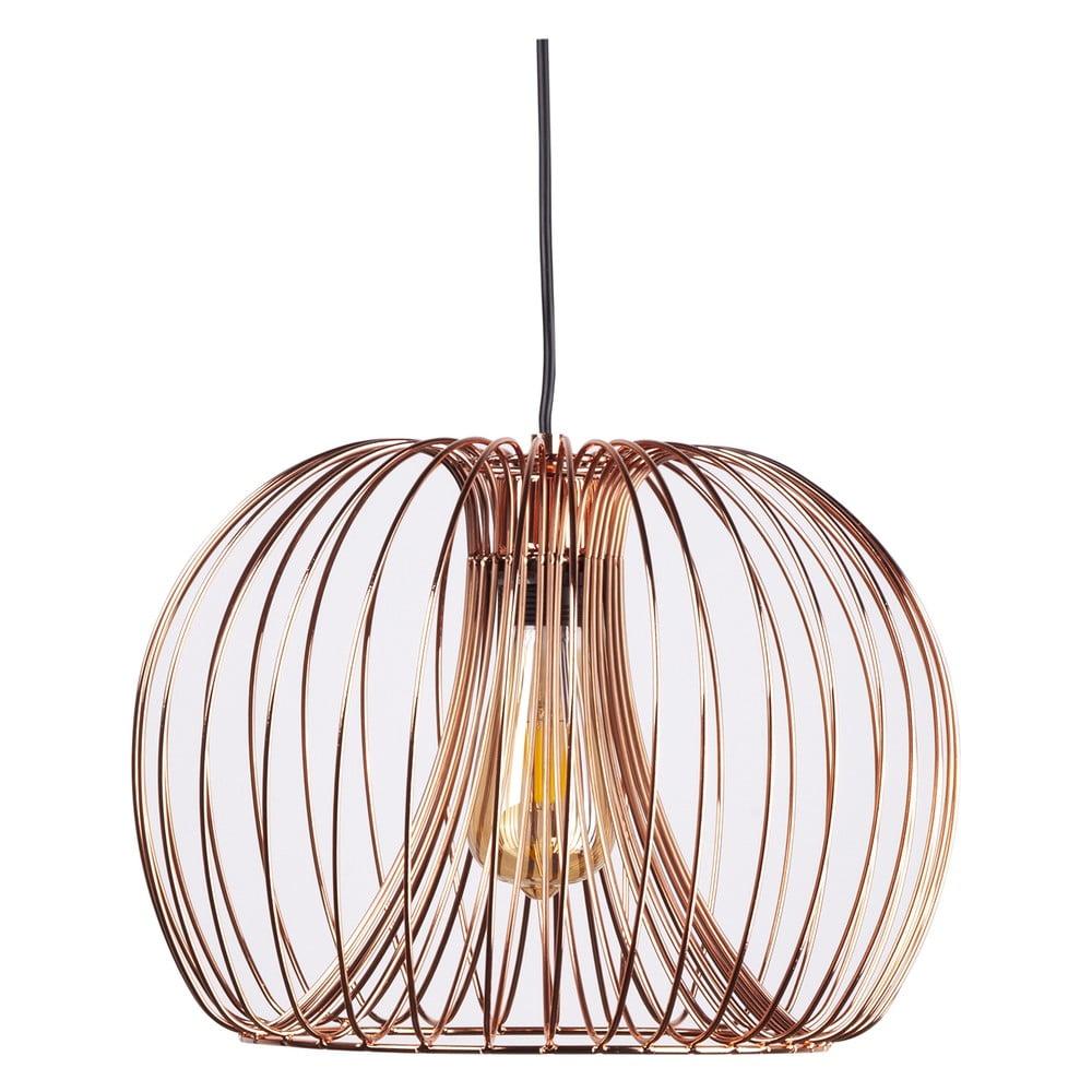 Lampa wisząca w złotej barwie sømcasa Verger, ø 26 cm