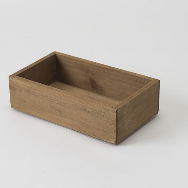 Pojemnik drewniany Compactor Vintage Box, 14x24 cm