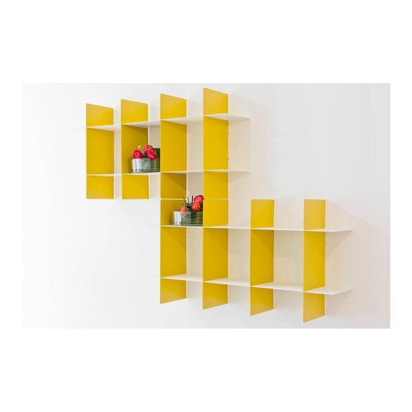 Żółta półka ścienna MEME Design Innesto