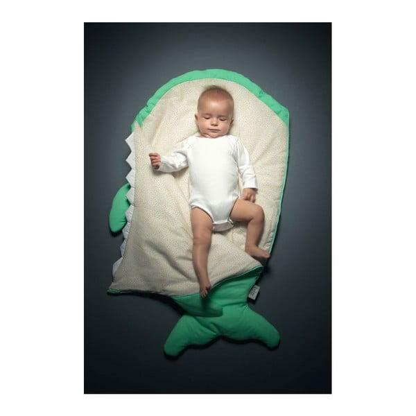 Dziecięcy śpiworek Baby Bites Mint with Graphic