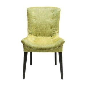 Ciemnozielone krzesło Kare Design Stay
