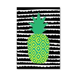 Plakat Striped Pineapple