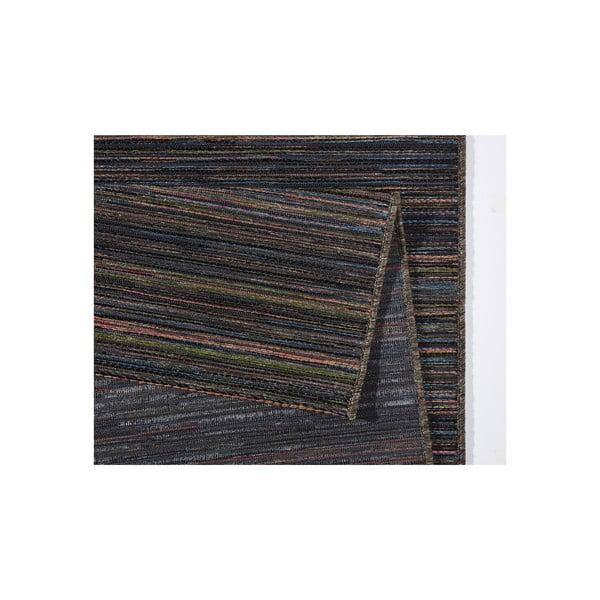Dywan nadający się na zewnątrz Lotus 200x290 cm, brązowe paski