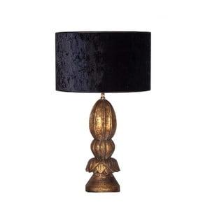 Lampa stołowa z podstawą z drewna tekowego VICAL HOME Nila