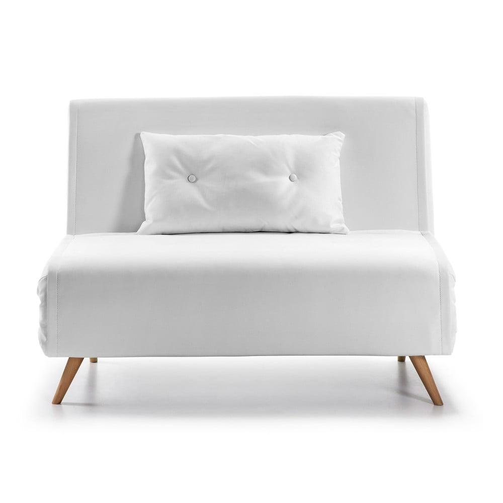 Biała sofa rozkładana La Forma Tupana