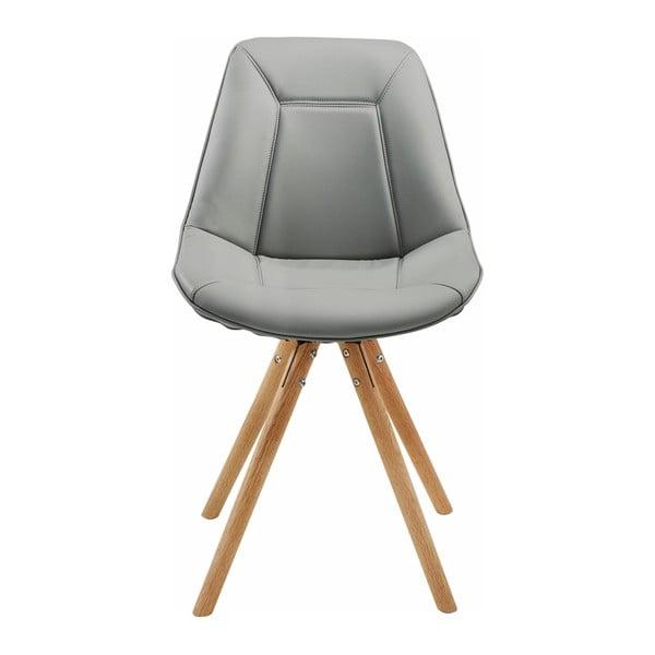 Szare krzesło Støraa Mel