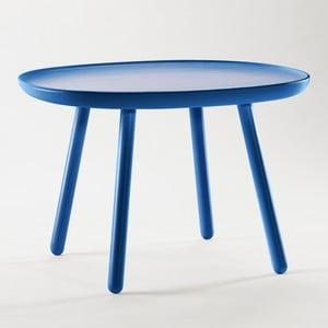 Niebieski stolik z litego drewna EMKO Naïve Large