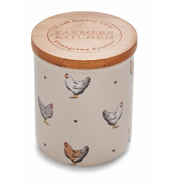 Beżowy pojemnik ceramiczny Cooksmart ® Farmer