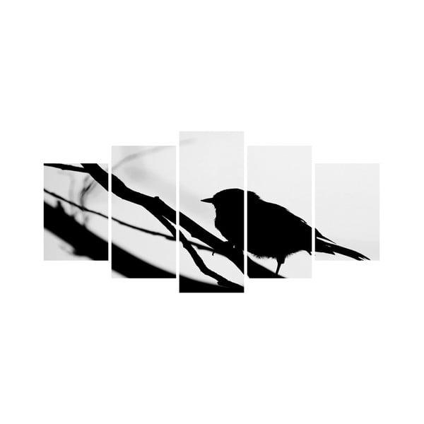 Wieloczęściowy obraz Black&White no. 43, 100x50 cm