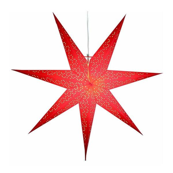 Czerwona gwiazda świecąca Best Season Dot Red, 70 cm