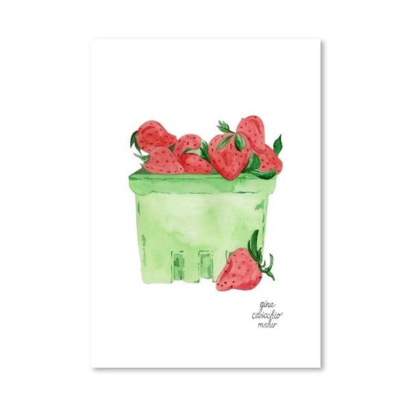 Autorski plakat Strawberries, 30x42 m