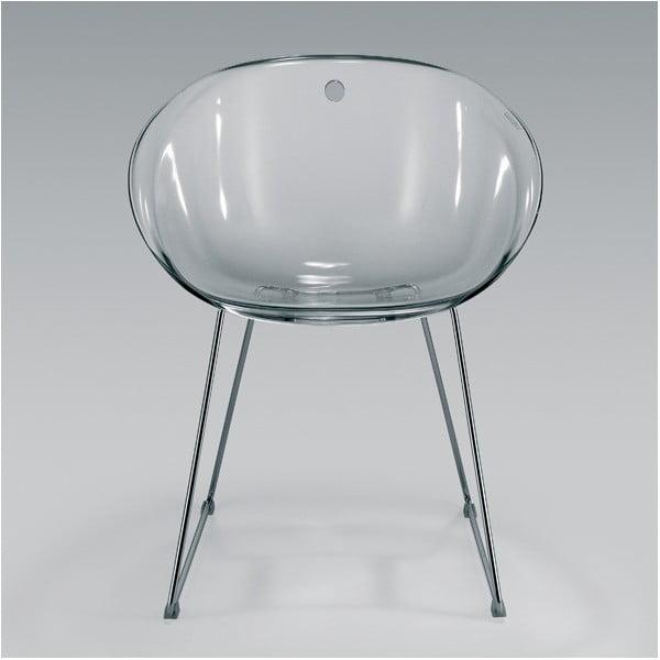 Szare krzesło Pedrali Gliss 921