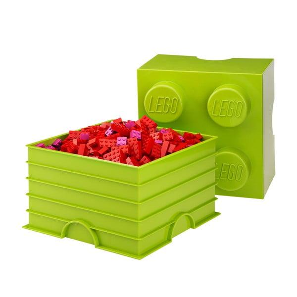 Limonkowy pojemnik kwadratowy LEGO®