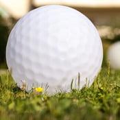 Nastrojowa lampa ogrodowa Golfball, 50 cm
