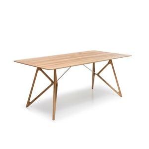 Stół dębowy do jadalni Tink Oak Gazzda, 160cm, naturalny