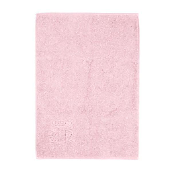 Różowy dywanik łazienkowy z bawełny Casa Di Bassi Basic, 50x70 cm
