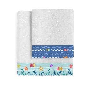 Zestaw 2 ręczników Sei Life, 50x100 i 70x140 cm