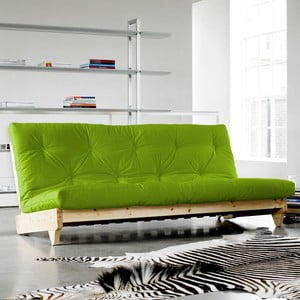 Sofa rozkładana Karup Fresh Natural/Lime