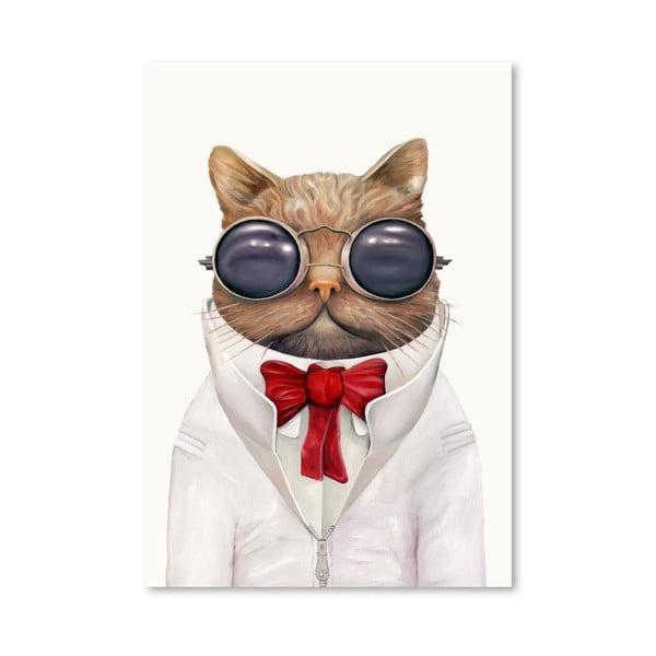 """Plakat """"Astro Cat"""", 30x42 cm"""
