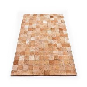 Skórzany dywan Sand, 180x120 cm