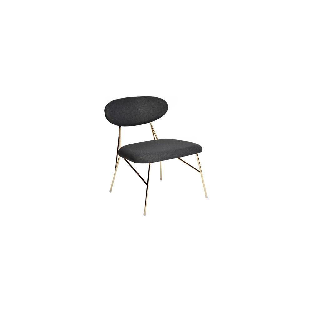 Czarne krzesło Leitmotiv Queen